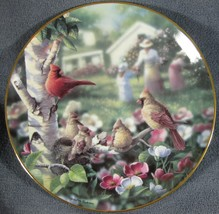 Beauty In Bloom Collector Plate Family Album Bradley Jackson 1993 Danbur... - $17.95