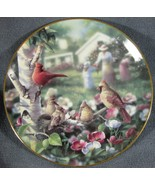Beauty In Bloom Collector Plate Family Album Bradley Jackson 1993 Danbur... - $17.95