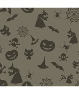 Halloween Seamless Background-ClipArt-Digital A... - $3.00
