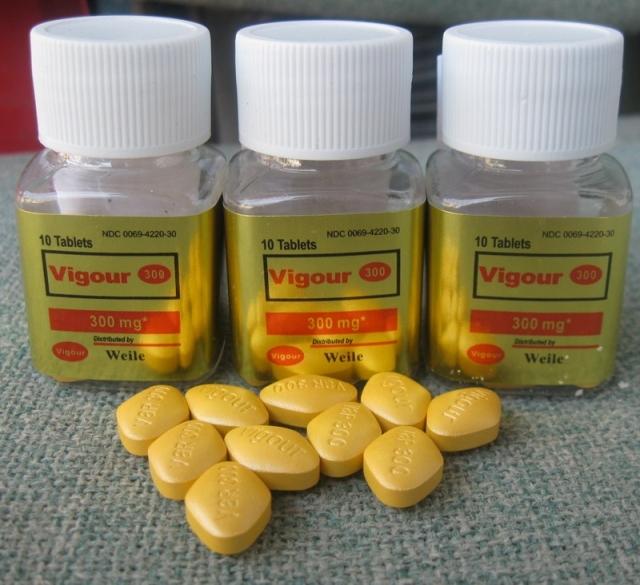 Gold viagra pill