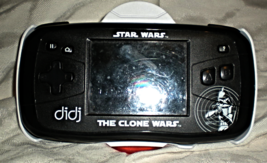DiDj  Leap Frog Star Wars  The Clone Wars  Game System - $16.75