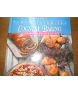 Family Favorites Country Baking Breads Muffins & More Hardcover 1995 - $2.99