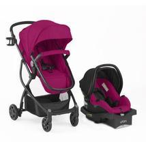 Urbini Omni Plus Travel System Car Seat Stroller Combo Set Red Infant Ba... - $324.99