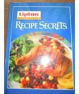 Lipton Recipe Soup Mix Recipe Secrets Hardcover 1995 - $1.99