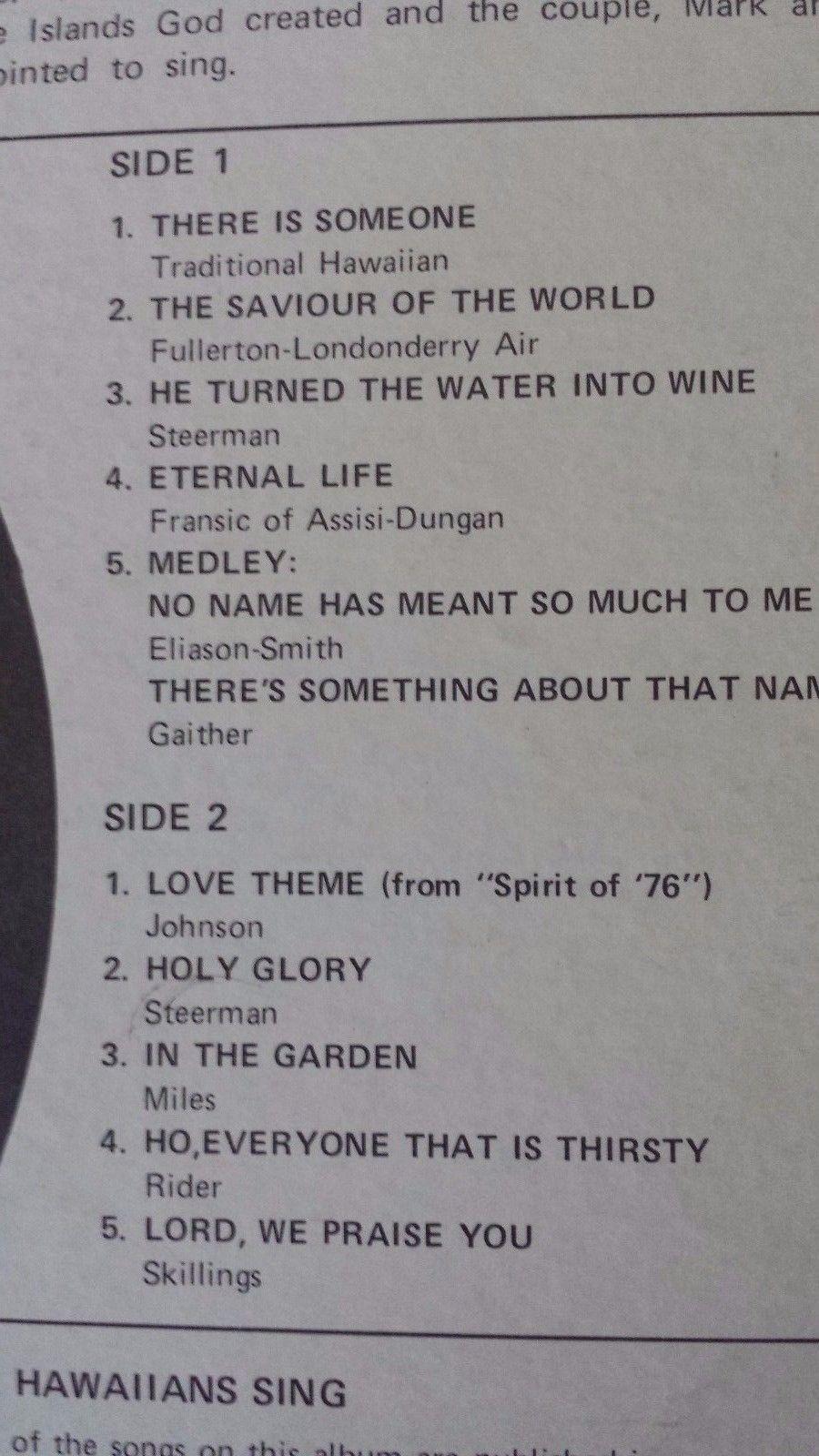 """Hawaiians Gospel R7054 12"""" Vinyl Record"""