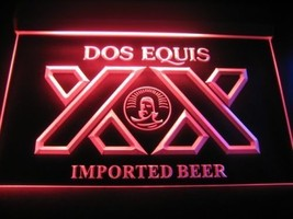 neon light sign DOS EQUIS IMPORTED BEER  PUB BAR  - $29.99