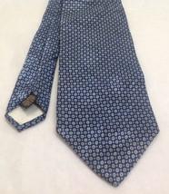 """XMI, Nordstrom, 4""""x60"""", 100% Silk, Dot Pattern-Blue, EUC, Necktie - $39.99"""