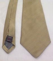 """Robert Talbot, Best of Class, 4""""x57"""", 100% Silk, Polka Dot, Gold/Silver,... - $59.99"""