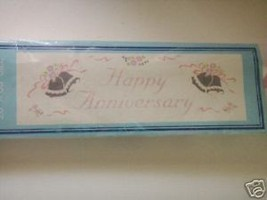 "Happy Anniversary extra large  Banner 20"" x 65"" Amscan - $5.94"