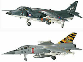 2 Hasegawa Model Planes - Mirage F.1C French Air Force Fighter and Sea H... - $28.70