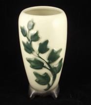 "Vintage mid century Royal Copley Ivy 7"" footed ... - $15.00"