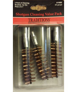 Traditions 28 Gauge Bronze Bristle Brush Value Pack of 3  # A1682   New! - $7.97