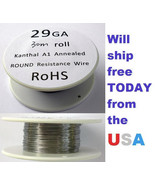 Kanthal 29 AWG 0.28702mm A-1 Wire 100ft Roll (30 meters) 6.55 Ohms/ft Re... - $6.88