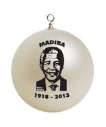 Nelson Mandela Christmas Ornament Gift - $16.95