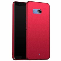 for HTC U11 Slim Case, ZUERCONG [Sand Series] Ultra-Thin (Sand Red) - $14.87