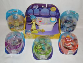 Disney Inside Out Control Panel Playset and 5 figures - Disgust, Sadness... - $82.95