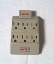Curtis Safe-Bloc 6 outlet electronic surge protector 15A 125V - $2.00