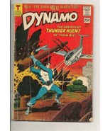 Tower Comic; Aug. 1966; No.1; Dynamo -- Greatest Thunder Agent! - $2.99