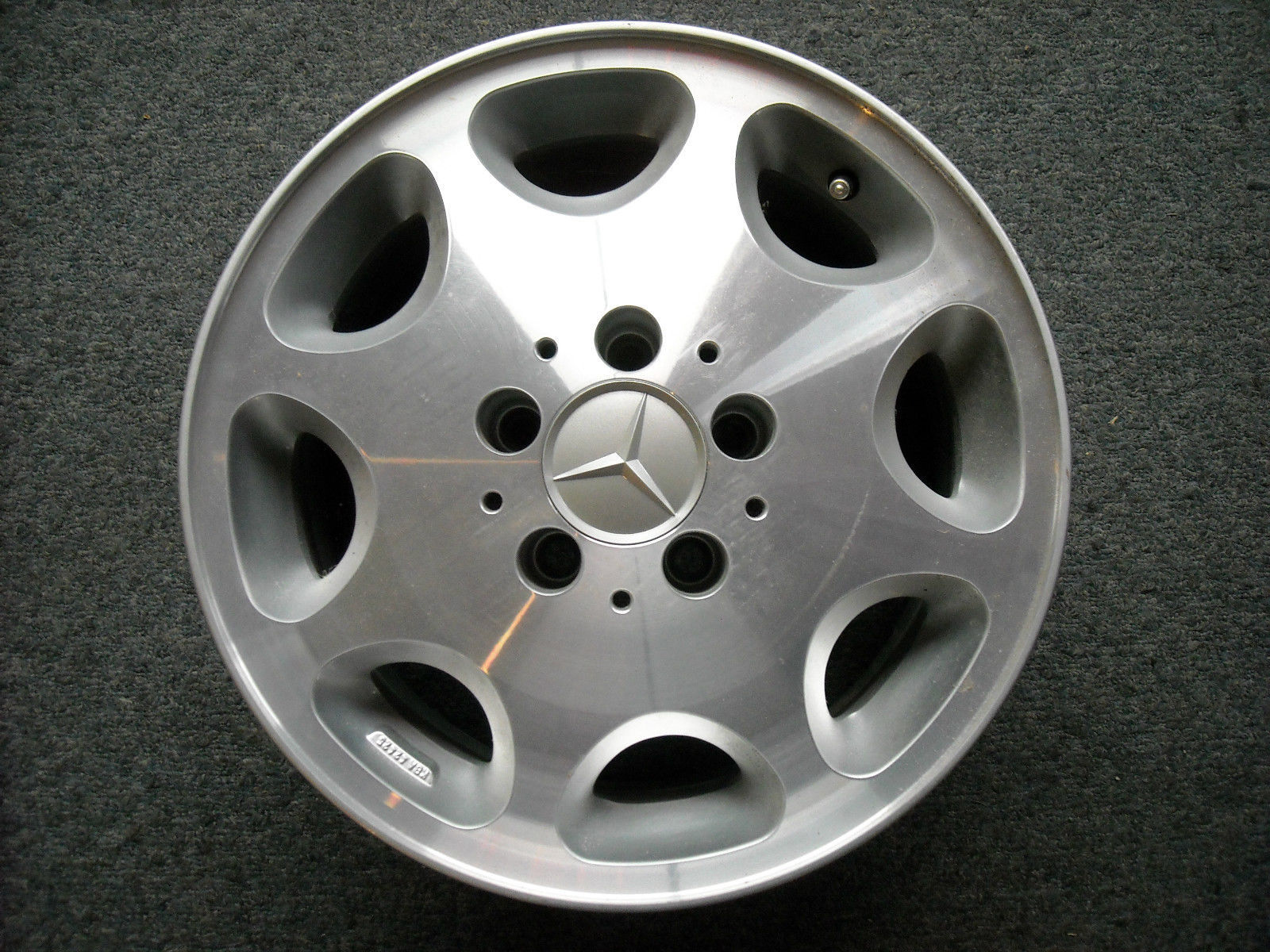 Primary image for Mercedes Wheel KBA 42425, used ( 7Jx15H2 )