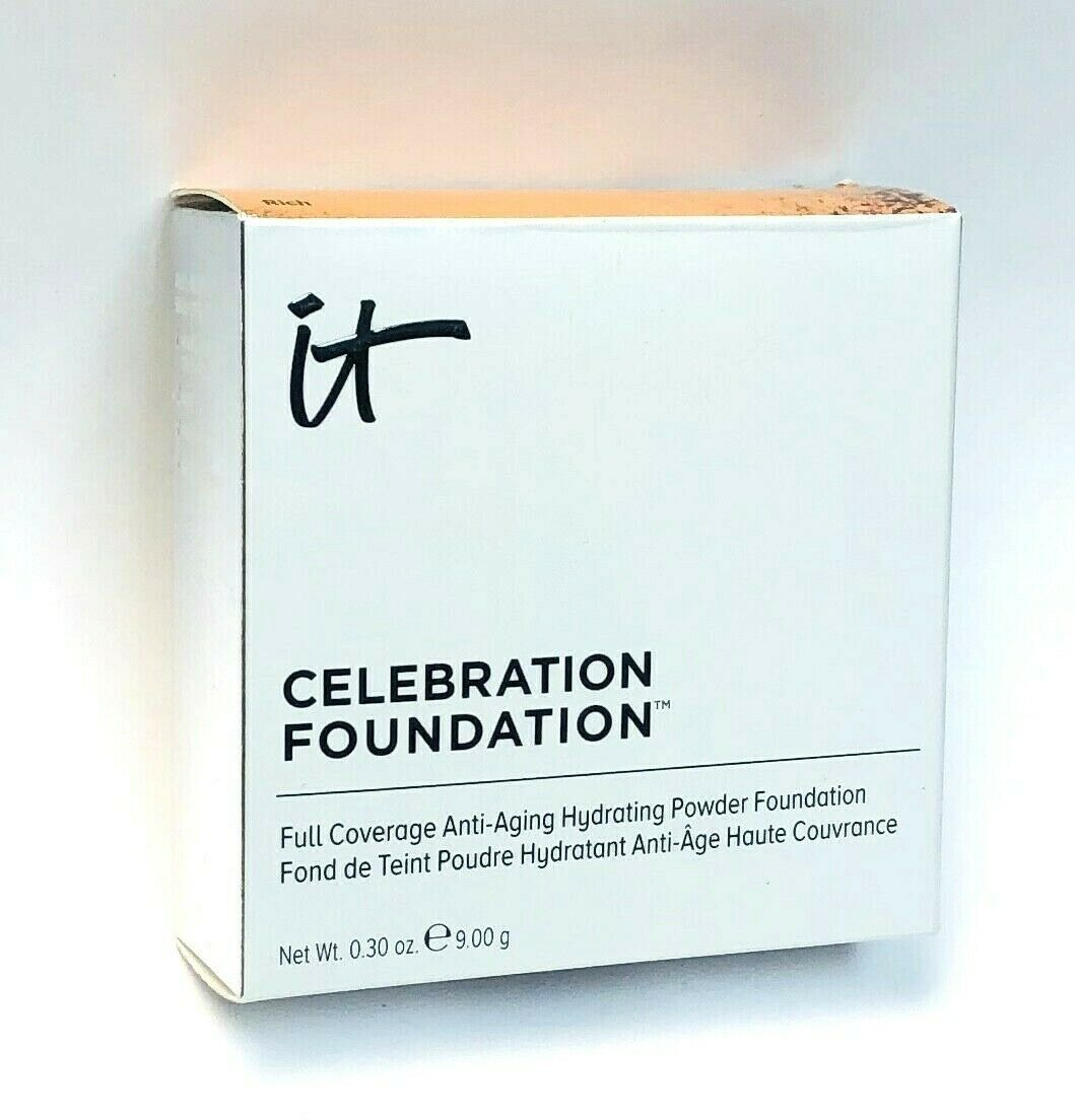 Primary image for it cosmetics Celebration Foundation Full Coverage Hydrating Powder - TAN