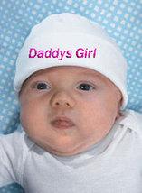 "Preemie & Newborn ""Daddys Girl"" Hat  - $10.00"