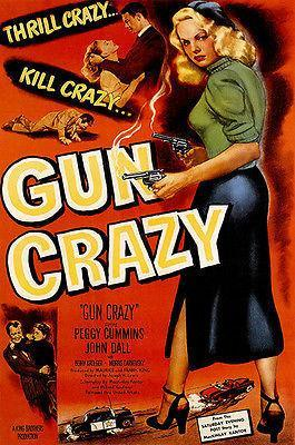 Primary image for Gun Crazy - 1950 - Movie Poster