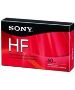 Sony C60HFR Single 60-minute Type 1 Audio Cassette Tape - $2.96
