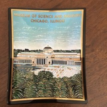 Museum of Science and Industry Chicago Illinois Souvenir Ashtray Glass 4... - $18.55