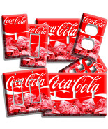 COCA-COLA ICE CUBES LIGHT SWITCH OUTLET WALL PL... - $9.99 - $21.99