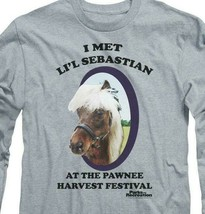 I met Lil Sebastian T-shirt Parks  Recreation long sleeve graphic tee NBC481 image 2