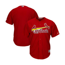 St Louis Cardinals Majestic Mens Red Alternate Cool Base Team Jersey Siz... - $98.99