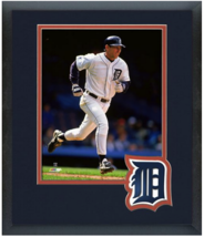 Alan Trammell Detroit Tigers Circa 1996  - 11 x 14 Team Logo Matted/Fram... - $43.55