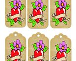 Brown heart tags2 thumb155 crop