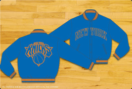 JH Design NBA New York Knicks Nylon Jacket - $99.95