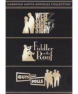 American Movie Musicals: West Side Story/Fiddler on Roof/Guys and Dolls ... - $299,94 MXN