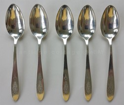 antique ONEIDA COMMUNITY PLATE SILVERPLATE FLATWARE BIRD of PARADISE 5 t... - $34.50