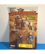 1987 TYCO DINO RIDERS ACTION FIGURES VINTAGE EVIL RULON FIRE HEROIC MIND... - $94.05