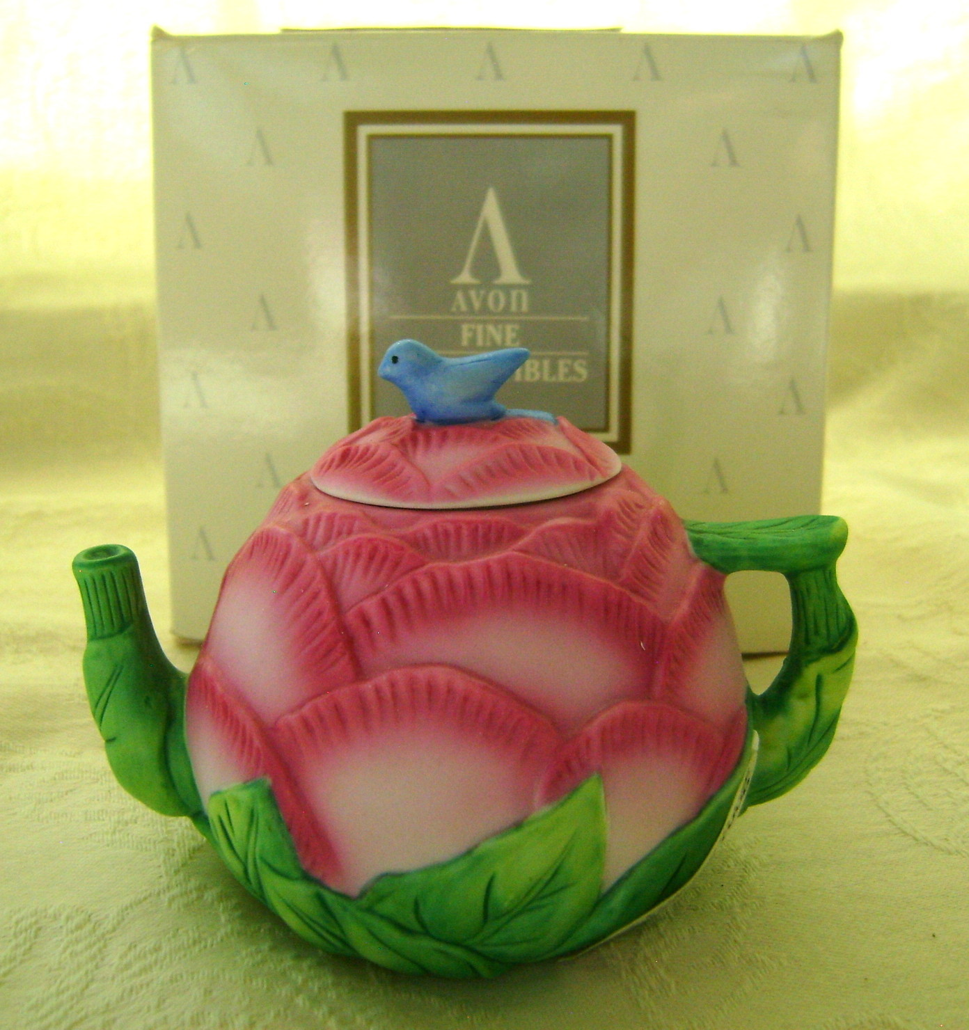 Seasons of The Year Mini Teapot - Avon 1995