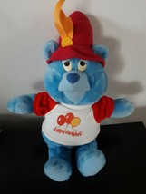 Vintage Disney Gummi Bear Plush Stuffed Animal Tummi Blue 1985 Fisher Price - $16.39