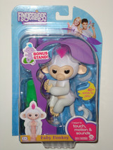 White Sophie - Fingerlings Interactive Finger Pet Baby Monkey Real Fingerling - $19.99