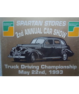 Spartan Stores 2nd Annual Car Show 1993 in Wrapper - $3.99