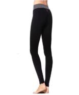 Hard Tail heather Flat Waist Legging in Black supplex xs small - $69.99