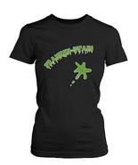 Franken-stain Halloween Women's Shirt Funny Graphic Black Tee for Horror... - $14.99+