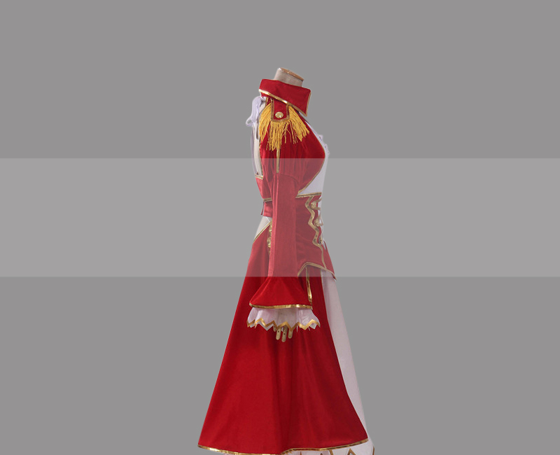 Saber Fate/EXTRA Nero Red Saber Cosplay Dress Buy