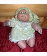 Cabbage Patch Kids Coleco Blonde 1 Pony 2-Teeth #10 Green Eyes Orphan - $6.95