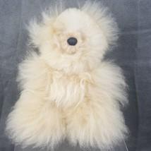 Alpaca Wool Teddy Bear - $18.69