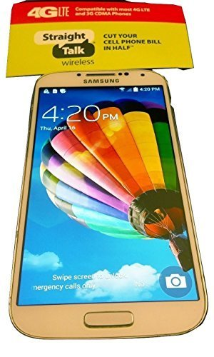 Samsung Galaxy S4 - For Straight Talk with Fast 4g LTE Data Verizon Towers