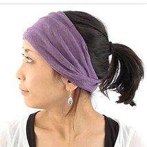 Casualbox Womens Made in Japan HeadBand Hair band Organic Cotton Skin Pu... - €15,09 EUR