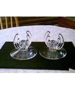 Heisey Crystolite Pair of Candleholders - $24.75