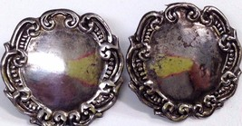 Vintage Sterling Silver Earrings - $18.34